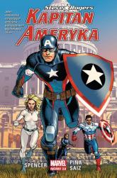 Kapitan Ameryka T.1 Steve Rogers - Nick Spencer   mała okładka