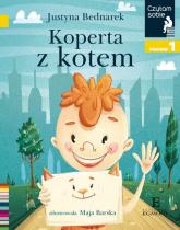 Czytam sobie Koperta z kotem / poz 1 - Justyna Bednarek | mała okładka