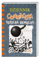 Dziennik cwaniaczka 14 Totalna demolka - Jeff Kinney | mała okładka