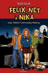 Felix, Net i Nika oraz Sekret Czerwonej Hańczy Tom 12 - Rafał Kosik | mała okładka