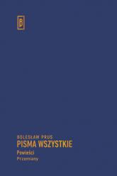 Przemiany - Bolesław Prus | mała okładka