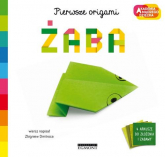 Żaba Pierwsze origami AMD - Zbigniew Dmitroca | mała okładka
