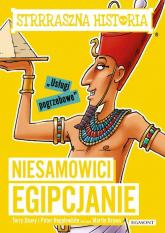 Niesamowici Egipcjanie Strrraszna historia - Deary Terry, Hepplewhite Peter | mała okładka