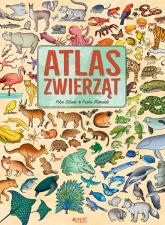 Atlas zwierząt - Paola Grimaldi | mała okładka