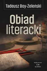Obiad literacki - Tadeusz Boy-Żeleński | mała okładka