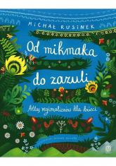 Od mikmaka do zazuli Atlas regionalizmów dla dzieci - Michał Rusinek | mała okładka