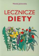 Lecznicze diety - Wanda Jackowska | mała okładka