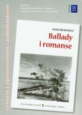 Ballady i romanse Audiobook i opracowanie - Adam Mickiewicz | mała okładka