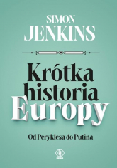 Krótka historia Europy - Simon Jenkins | mała okładka