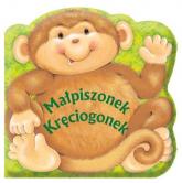 Małpiszonek Kręciogonek Książeczka kąpielowa - Patrycja Zarawska | mała okładka