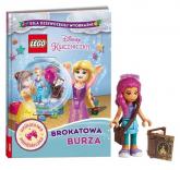 Książka do czytania Lego Disney Księżniczka Brokatowa burza - Jessica Brody | mała okładka