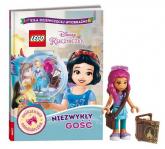 Książka do czytania Lego Disney Księżniczka Niezwykły gość - Jessica Brody | mała okładka