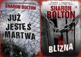 Blizna / Już jesteś martwa Pakiet - Sharon Bolton | mała okładka