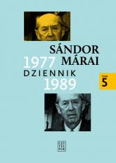 Dziennik 1977-1989 t5 - Sandor Marai | mała okładka