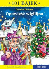 Opowieść wigilijna - Charles Dickens | mała okładka