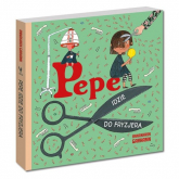 Pepe idzie do fryzjera - Anna-Karin Garhamn | mała okładka