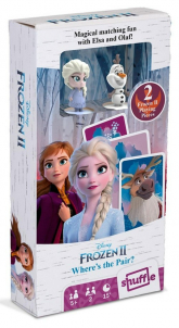 Kraina Lodu 2 gra karciana z figurkami Elsa i Olaf -  | mała okładka