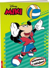 Disney Miki Kolorowanka z naklejkami -    mała okładka