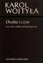 Osoba i czyn oraz inne studia antropologiczne - Karol Wojtyła | mała okładka