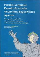 Trzy greckie stylistyki i dwa traktaty retoryczne z okresu Cesarstwa Rzymskiego -  | mała okładka