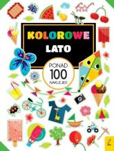Kolorowe lato Ponad 100 naklejek -  | mała okładka