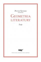 Geometria literatury Eseje - Peter Szondi | mała okładka