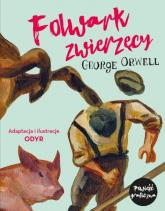 Folwark zwierzęcy - George Orwell | mała okładka