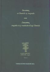 Susanna, ex Danielis 13. tragoedia. Zuzanna, tragedia z 13 rozdziału Księgi Daniela -  | mała okładka