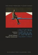 Filozofia prawa Normy i fakty - Dziobkowski Bogdan, Hołówka Jacek | mała okładka