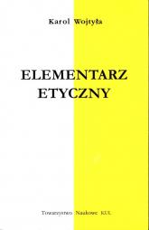 Elementarz etyczny - Karol Wojtyła   mała okładka