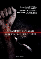 Społeczne i prawne aspekty handlu ludźmi - zbiorowa Praca | mała okładka