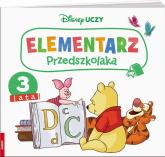 Disney Uczy Kubuś i przyjaciele Elementarz przedszkolaka 3 lata -  | mała okładka
