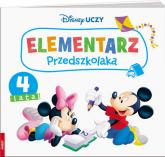 Disney Uczy Miki Elementarz przedszkolaka 4 lata -  | mała okładka