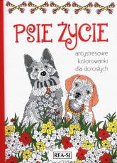 Kolorowanki dla dorosłych Psie życie -  | mała okładka