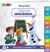 Disney Uczy Kraina Lodu Tabliczka mnożenia -  | mała okładka