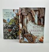 Pakiet Atlas Tolkienowski/Bitwy w świecie Tolkiena - David Day | mała okładka