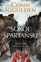 Sokół spartański - Conn Iggulden | mała okładka