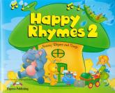 Happy Rhymes 2 Pupil's Book + CD + DVD - Dooley Jenny, Evans Virginia | mała okładka