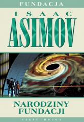 Narodziny Fundacji - Isaac Asimov | mała okładka