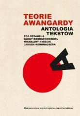 Teorie awangardy Antologia tekstów -  | mała okładka