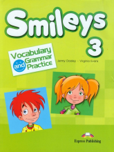 Smileys 3 Vocabulary and Grammar Practice - Dooley Jenny, Evans Virginia | mała okładka