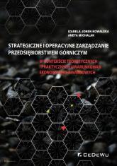 Strategiczne i operacyjne zarządzanie przedsiębiorstwem górniczym - Jonek-Kowalska Izabela, Michalak Aneta | mała okładka