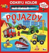 Odkryj kolor Pojazdy - Mirosława Kwiecińska   mała okładka