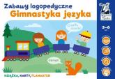 Gimnastyka języka Zabawy logopedyczne Kapitan Nauka - Monika Sobkowiak   mała okładka