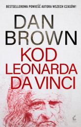 Kod Leonarda da Vinci - Dan Brown | mała okładka