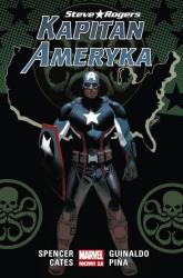 Kapitan Ameryka Tom 2 Steve Rogers -  | mała okładka