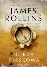 Burza piaskowa - James Rollins | mała okładka