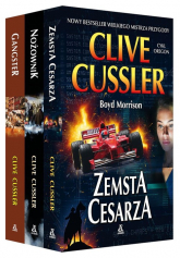 Zemsta cesarza / Nożownik / Gangster Pakiet - Clive Cussler | mała okładka