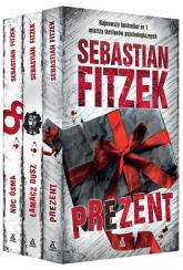 Prezent / Łamacz dusz / Noc ósma - Sebastian Fitzek | mała okładka