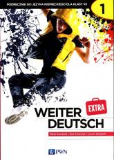 weiter Deutsch Extra 1 Podręcznik do języka niemieckiego dla klasy 7 Szkoła podstawowa - Kozubska Marta, Krawczyk Ewa, Zastąpiło Lucyna | mała okładka